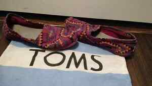 Colourful Aztec Toms