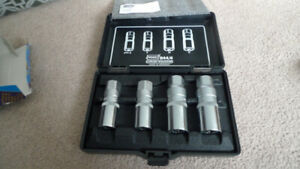 New Hazet 844/4 Stud Extractor Set 4-Piece Germany .