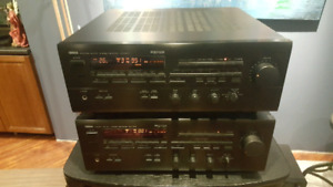 Two Identical Yamaha RX-V870 Stereo Receivers
