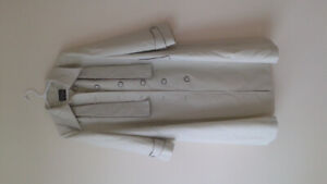 Mills brothers vintage womans trench coat