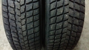 2 WINTER TIRES  225/65/r17