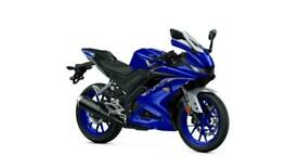 YAMAHA YZF-R125 2021 NEW UNREGISTERED BLUE MOTORCYCLE 125CC