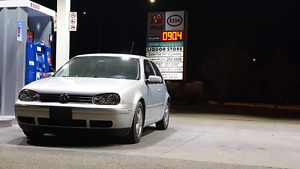 2000 vw golf trade for a 4x4