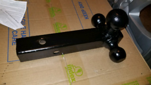 Tri-Ball Mount class 2,3, 4. Versatile mount has all towing need