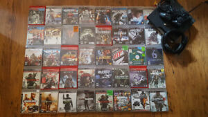 PS3 System PLUS 40 games!