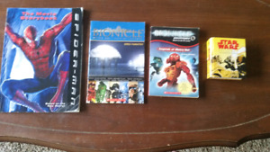 Bionicle Spider-Man and Star Wars Books