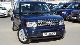 2011 LAND ROVER DISCOVERY 4 TDV6 HSE BALTIC BLUE BEIGE LEATHER A GREAT SP