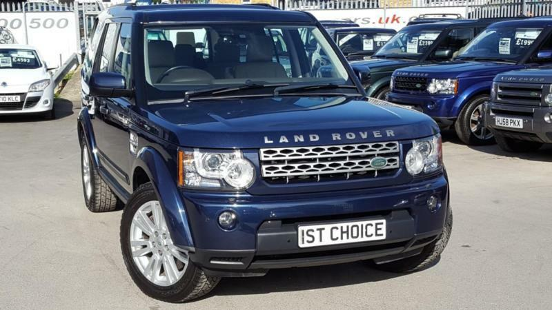 2011 Land Rover Discovery 4 Tdv6 Hse Baltic Blue Beige Leather A