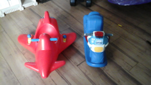 Assortment of baby items