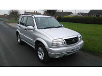2005 SUZUKI GRAND VITARA 2.0 16v 4X4 *** NEW MOT, SUPERB EXAMPLE ***