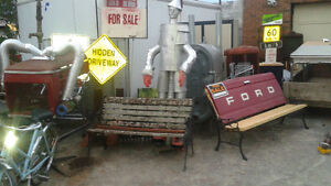 LOTS OF SIGNS AND OTHER MAN CAVE DECOR( tractor grills etc) Belleville Belleville Area image 8