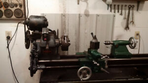 Clausing Metal Lathe for sale by auction, Sept 30th, Nipawin,