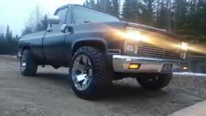 1982 Chevrolet Silverado 2wd 3/4 ton 454