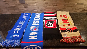 Collectible sport scarfs