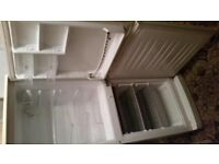 White LG Garage Fridge Freezer