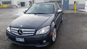 2008 C350 4Matic, AMG package with navigation; Brampton