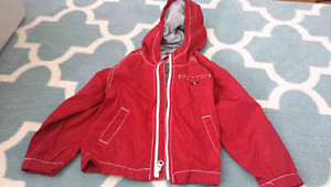 4T Boys Red Spring Jacket
