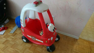 Little Tikes Fire Truck with Alarm and Horn