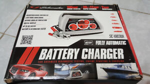 Schumacher Automatic car battery Charger and Maintainer