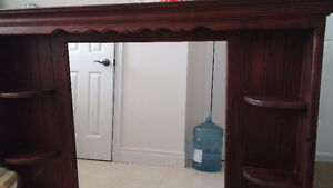 'All Wood' -Mirror unit for Dresser Peterborough Peterborough Area image 7