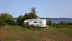 Waterfront Property with 26 ft Trailer on the Ottawa River