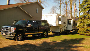 2011 Ford F-250 Camionnette + fifthwheel Colorado 2009