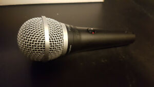 Shure PGA48 Microphone with Clip and Mic Bag