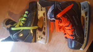 Bauer size 12D and 13D youth skates