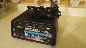 Schumacher SE-5212A 2/10/50 Amp Automatic Handheld Battery Charg
