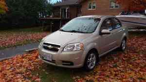 2009 Chevy Aveo 59000km 5 Speed