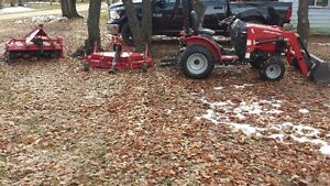 Tractor and Attachments
