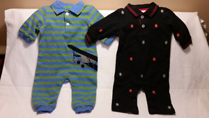 2 Kitestrings by Hartstrings Baby 1pc Boys Outfits Size 0-3 Mts