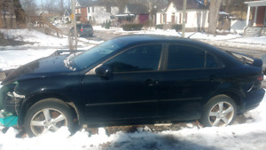 $500.00 firm. 2008 Mazda 6 manual transmission