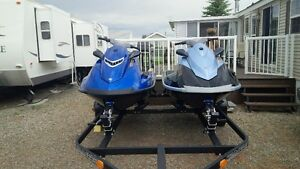 2- Yamaha Wave Runners less than 25hrs on each