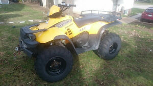 2000 Polaris Sportsman 500 comes with Snow Plow