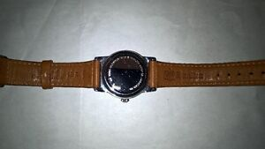 As New HAMILTON mens watch with leather band London Ontario image 2