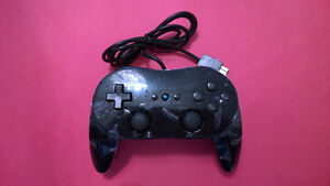 Wii Classic Controller - Black - Brand New