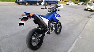 Moto yamaha wr250x super motard 2008