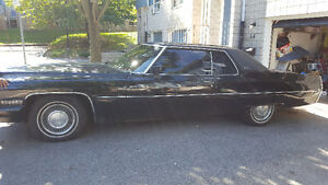 Classic Cadillac 1972 Coupe Deville Must go As Is