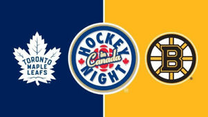 Toronto Maple Leafs vs Boston Bruins January 12