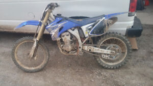 2008 Yz250F Yamaha Part Out