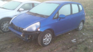 JUST IN 2007 HONDA FIT FOR PARTS@ PIC N SAVE WOODSTOCK