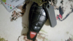 Lost car fob key and house key