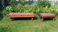 Deck bench / Garden bench & Table