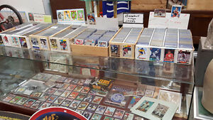BUYING AND SELLING SPORTS CARDS - HOCKEY BASEBALL MUSIC & MORE