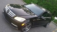 2011 Mercedes C350 4MATIC FULL LOAD GPS, BACK UP CAM, AMG PCKG!