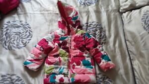 Winter outfit for toddler girl -Coat, snowpants, and accessories