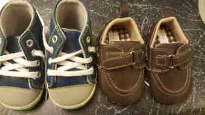2$/both baby boy size 2 shoes