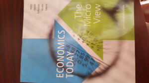 Economics Today: The Micro View, 5th Canadian Edition