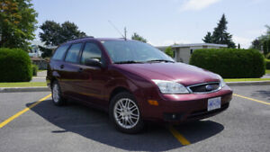 2007 Ford Focus SES Wagon - Great Condition, Camping Mobile